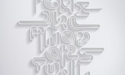The Single Type font