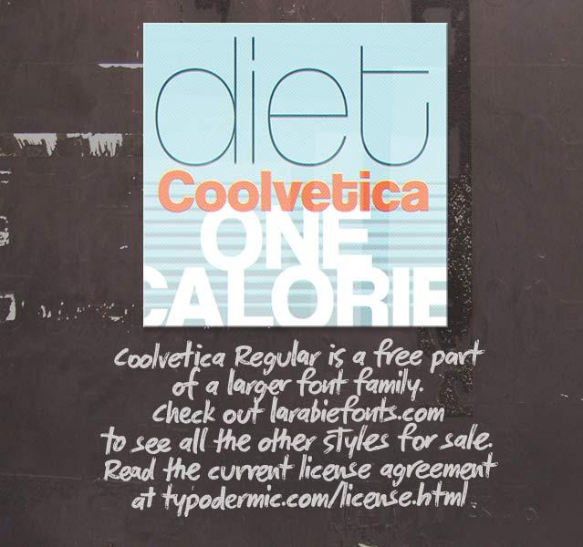 Coolvetica font