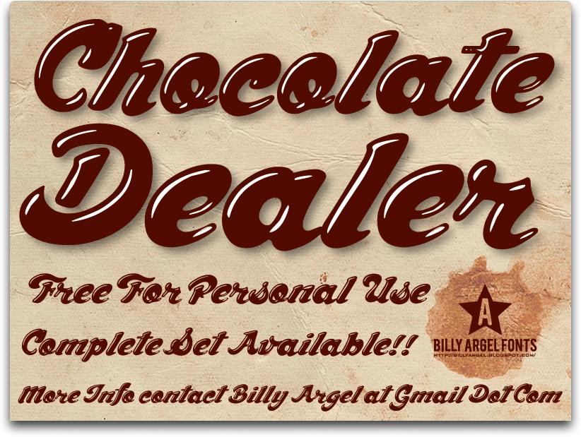 Chocolate Dealer font