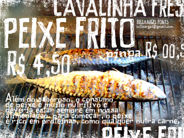 Peixe Frito font