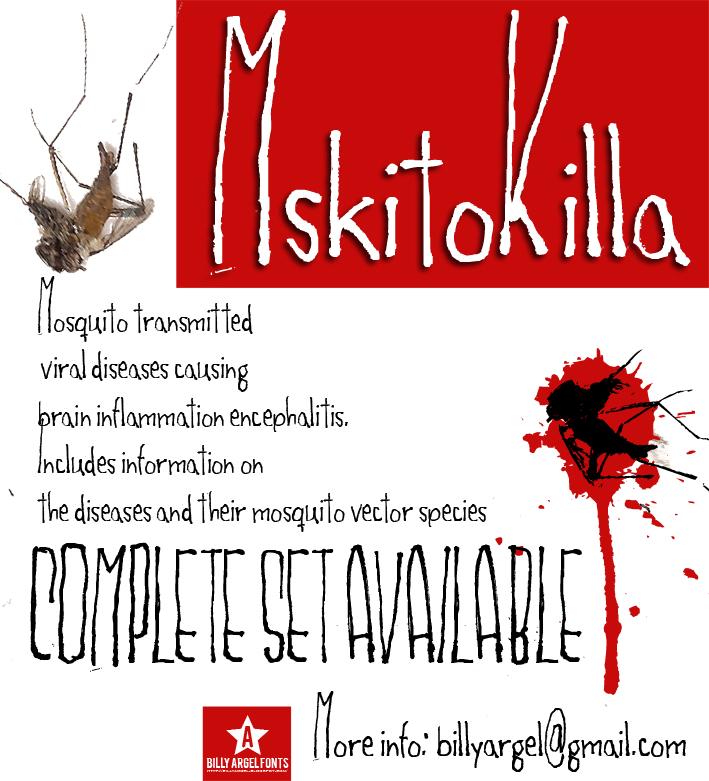 Mskitokilla font