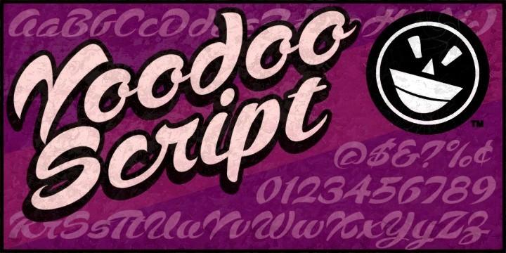 Voodoo Script font