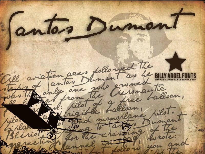 Santos Dumont font