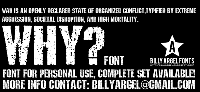 Why font