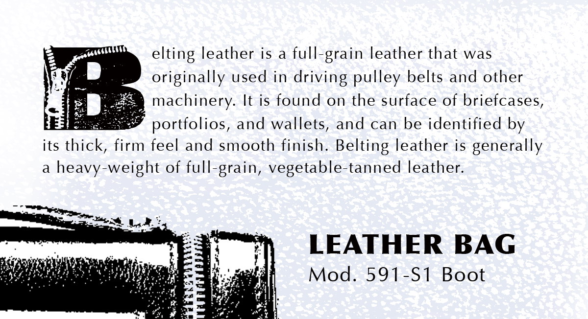 Leather font