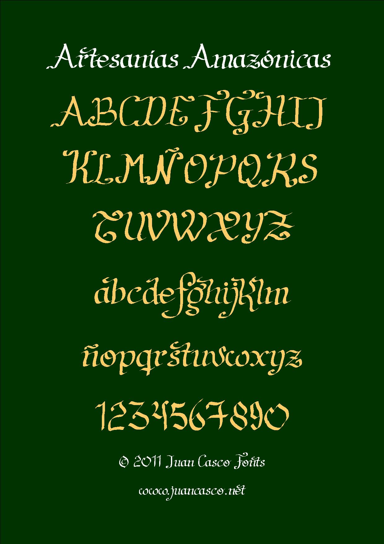 Artesanias font