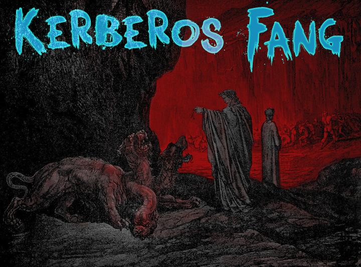 Kerberos Fang font