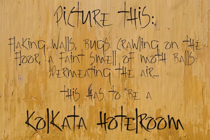 Kolkata Hotelroom font