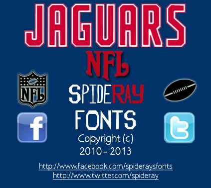 NFL Jaguars font