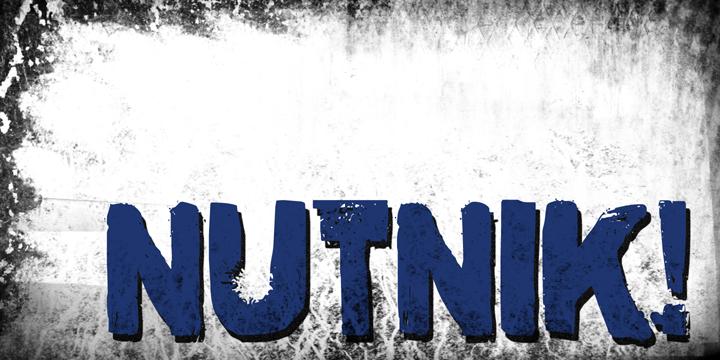 DK Nutnik font