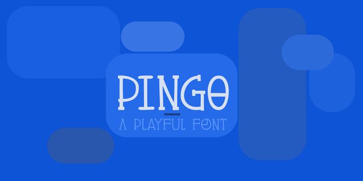 DK Pingo font