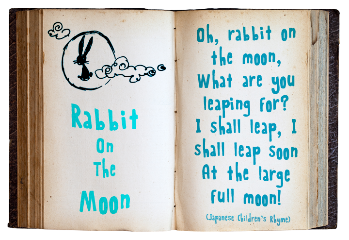 Rabbit On The Moon font