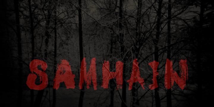 DK Samhain font