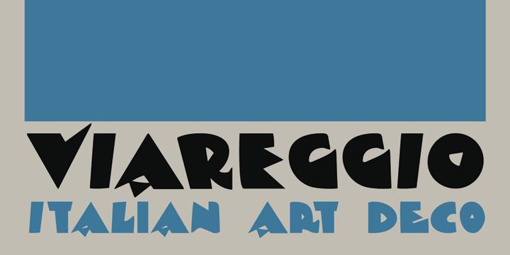 DK Viareggio font