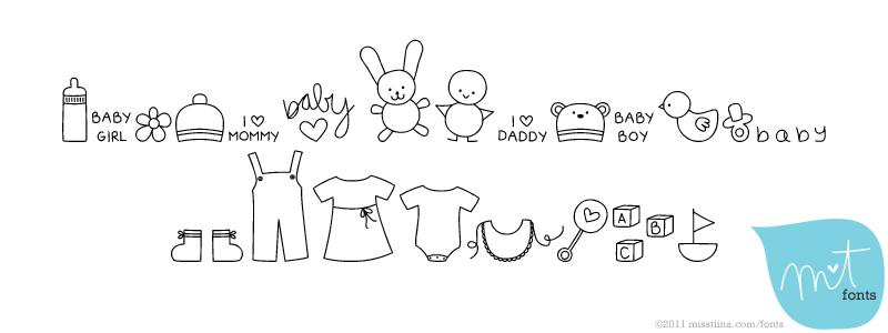 MTF Itty Bitty Baby font