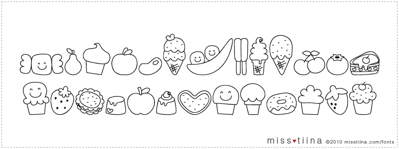 MTF Sweet Dings font