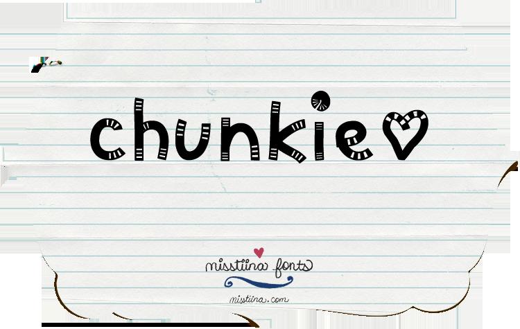 MTF Chunkie font