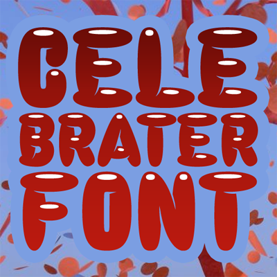 Celebrater font