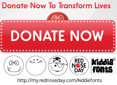Red Nose Day font