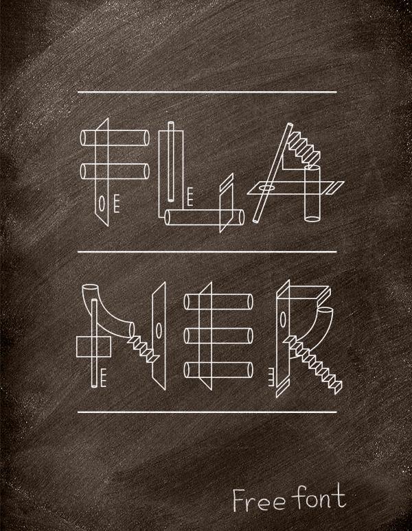 Flaner font