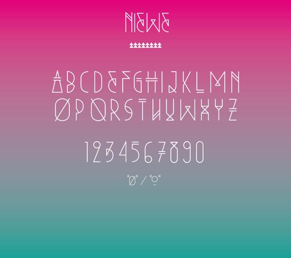Niewe font