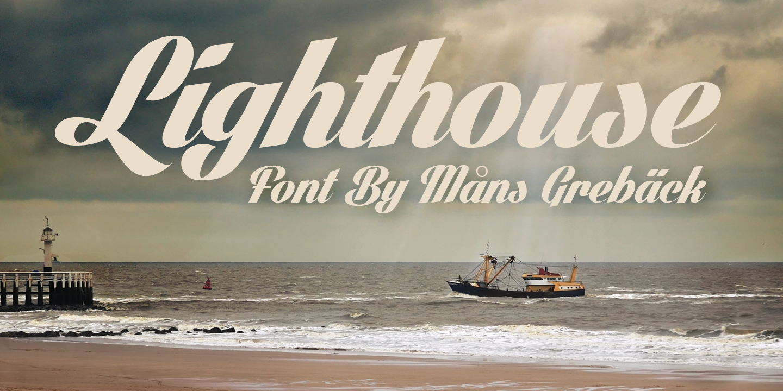 Light House 2 font