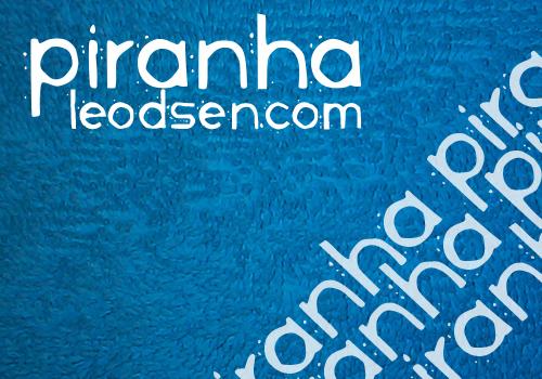 Piranha font