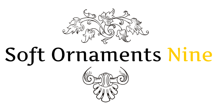 Soft Ornaments Nine font