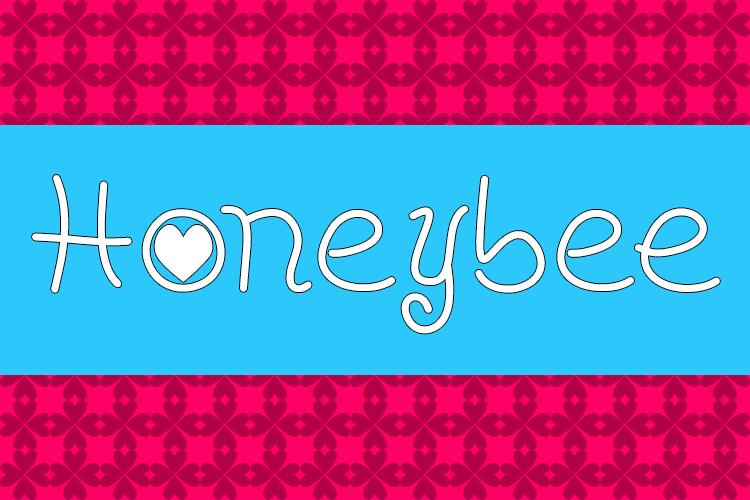 Honeybee font