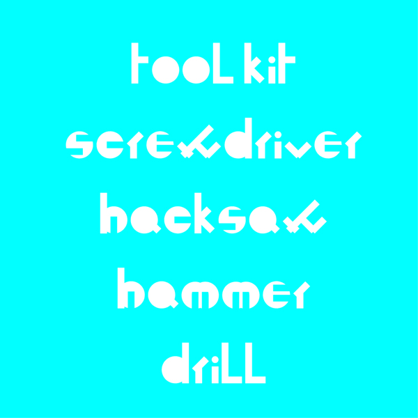 Toolkit font