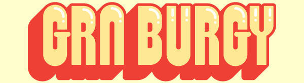 GRN Burgy font