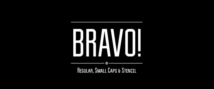 Bravo font