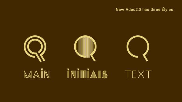 Adec font