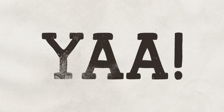 Yaa font