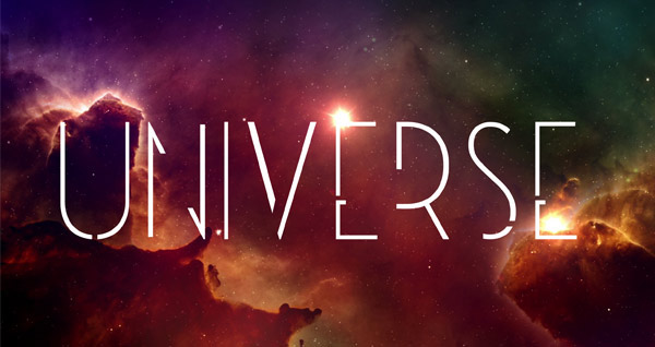 Universe font Download