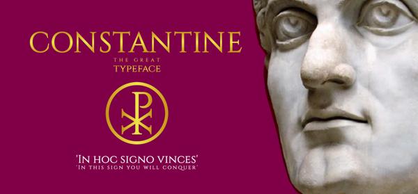 Constantine font