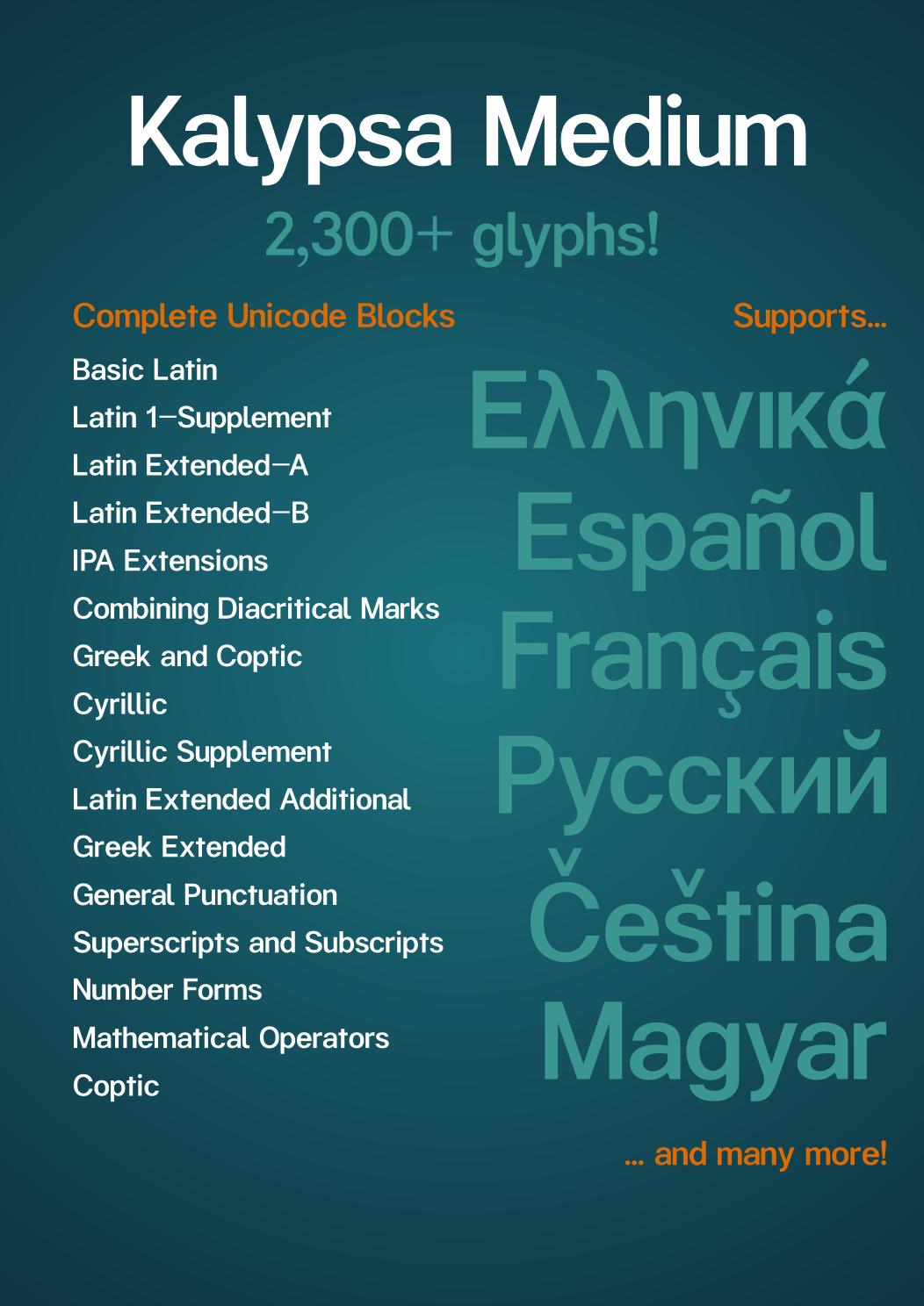 Kalypsa font