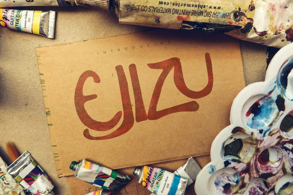 Ejizu font