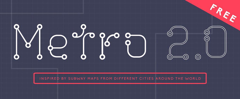 Metro-Regular font