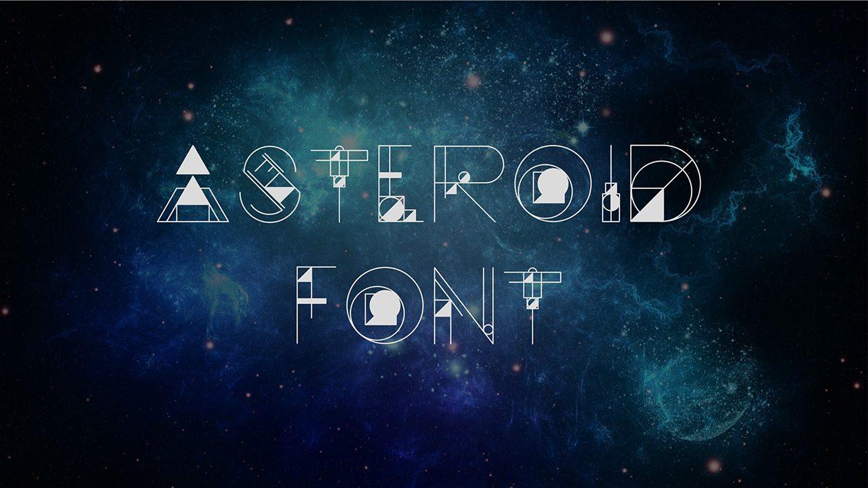 Asteroid Font Regular font