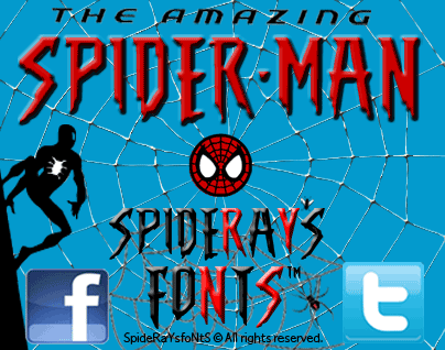The Amazing Spider-Man font