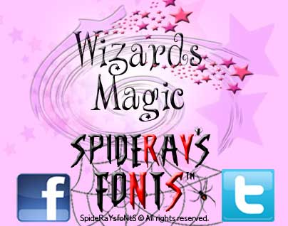 Wizards Magic font