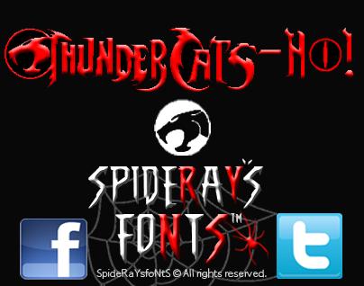 Thundercats-Ho! font