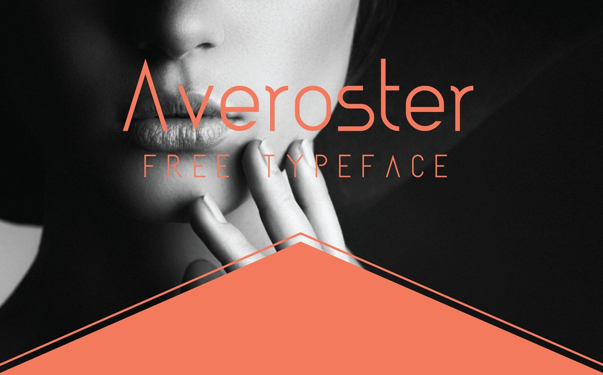 Averoster regular font