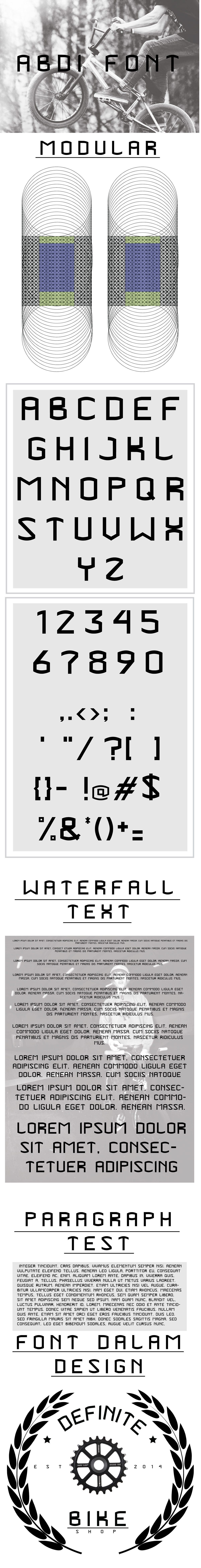 abdi font