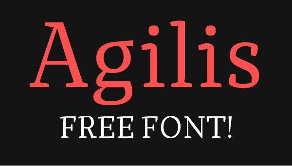 Agilis font