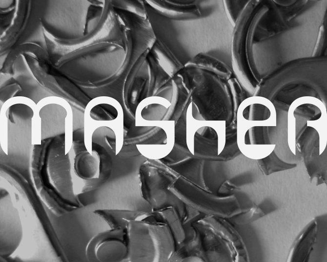 Masher font