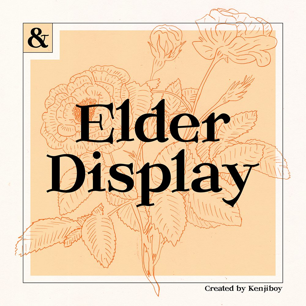 Elder-Regular font