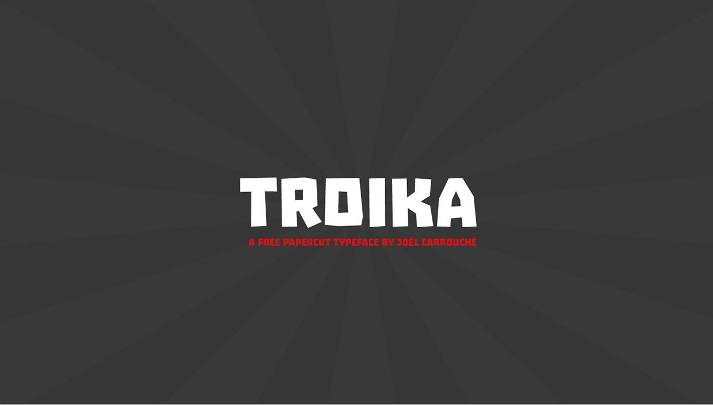 Troika font