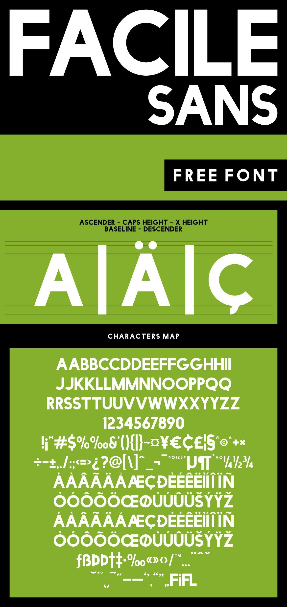 Facile Sans font